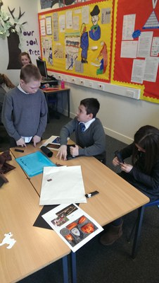 Co-operative Learning 16th Century Projects 7