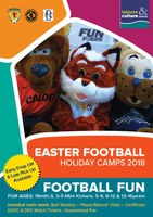 Easter Football Holiday Camps 2018